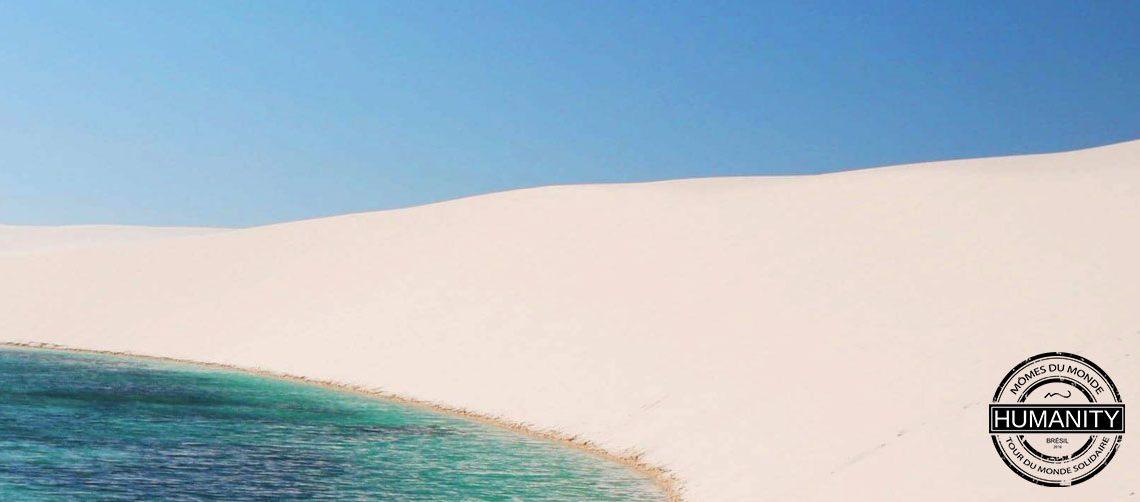 mer sable blanc