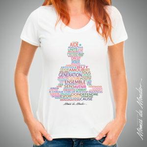 t-shirt femme buddha