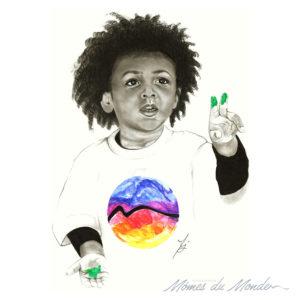 mj dessin enfant