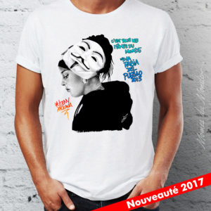 portrait dessin t shirt
